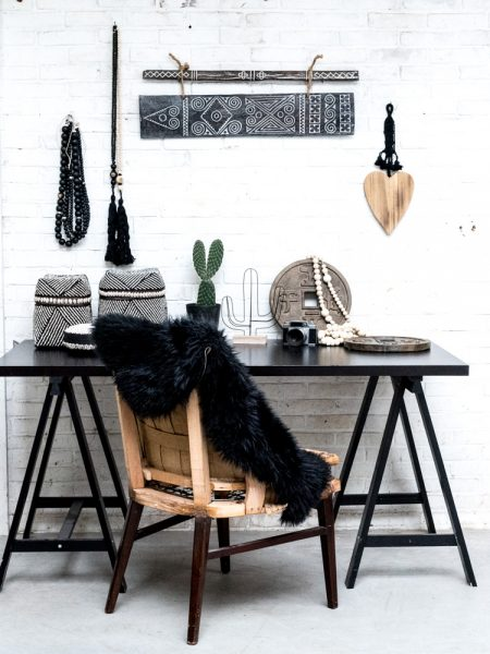 wooden wall deco