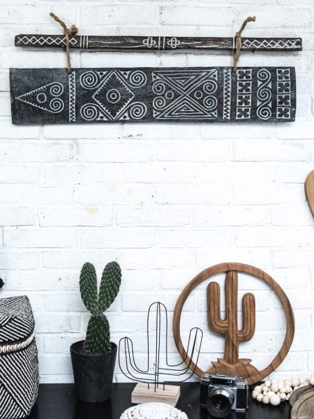houten cactus, wooden cactus, cactus madumadu, sumba art, sumba art madumadu, ethnic chic madumadu