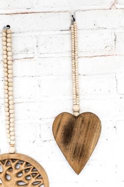 houten hart, wooden heart, love mala, houten hart madumadu, wooden heart madumadu