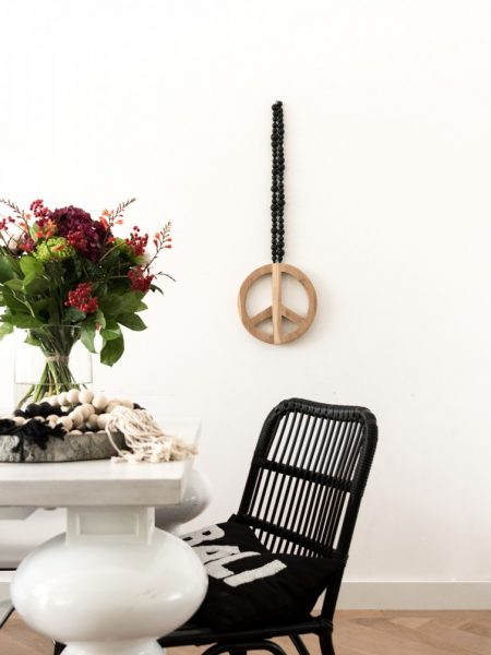 peace mala, peace sign, peace teken, peace mala madumadu, peace sign madumadu, wallhanging, walldecor, walldecor madumadu