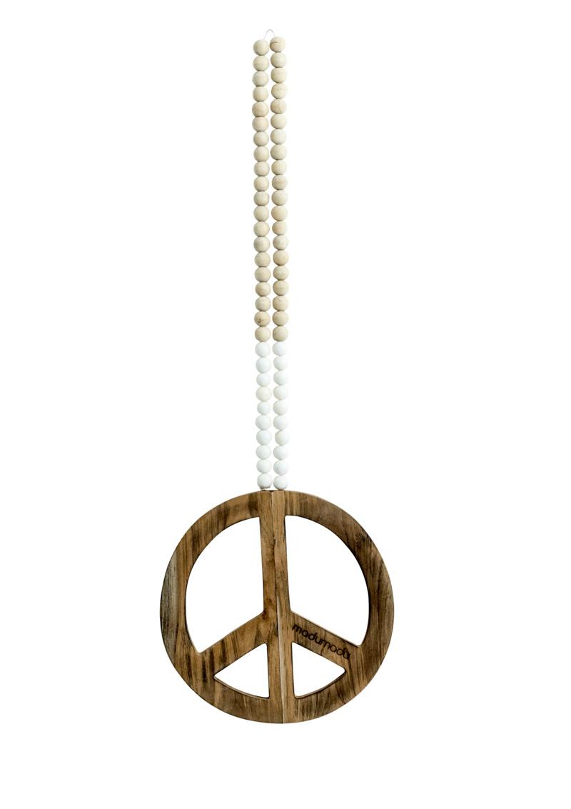 Peace Mala White