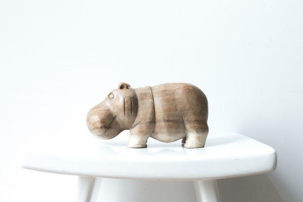 hippo big, hippo madumadu, wooden hippo, wooden hippo madumadu,