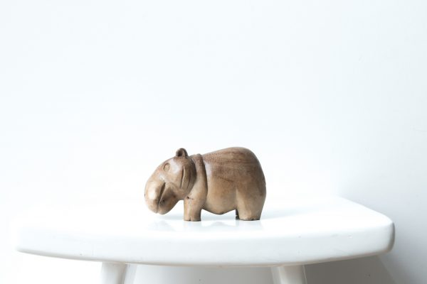 hippo medium, hippo medium madumadu, wooden hippo, wooden hippo madumadu