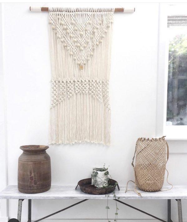 macrame madumadu, macrame wandkleed, wandkleed, tapestry, handmade tapestry, macrame bali, macrame madumadu